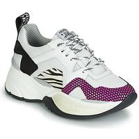 Pantofi Femei Pantofi sport Casual Meline ARGAGALI Alb / Negru