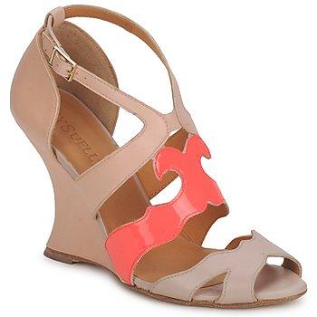 Pantofi Femei Sandale și Sandale cu talpă  joasă MySuelly PAULINE Taupe /  grenadine