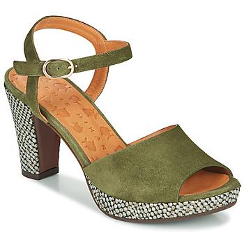 Pantofi Femei Sandale și Sandale cu talpă  joasă Chie Mihara ERICK Verde