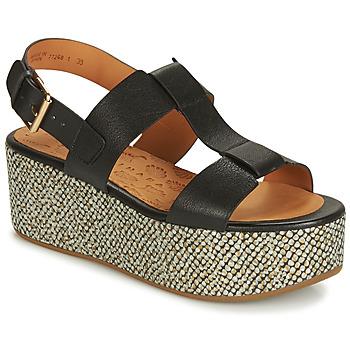 Pantofi Femei Sandale și Sandale cu talpă  joasă Chie Mihara OLIVIA Negru