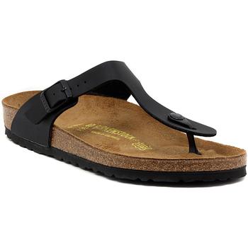 Pantofi Femei  Flip-Flops Birkenstock GIZEH SCHWARZ CALZ N Multicolore