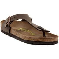 Pantofi Femei  Flip-Flops Birkenstock GIZEH MOCCA CALZ N Multicolore