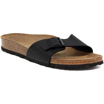 Pantofi Femei Papuci de vară Birkenstock MADRID SCHWARZ CALZ S Nero