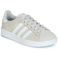 Încăltăminte Copii Pantofi sport Casual adidas Originals CAMPUS C Gri
