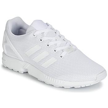 Încăltăminte Copii Pantofi sport Casual adidas Originals ZX FLUX J Alb