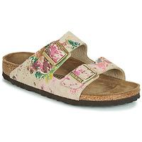 Pantofi Femei Papuci de vară Birkenstock ARIZONA Bej