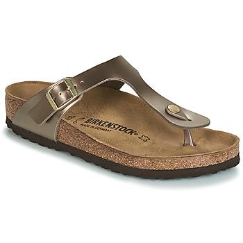 Pantofi Femei  Flip-Flops Birkenstock GIZEH Bronz