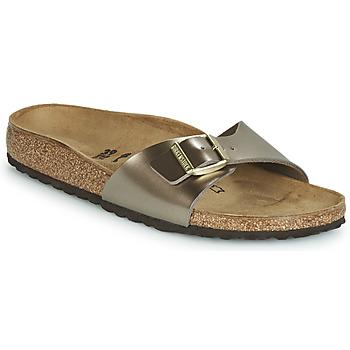 Pantofi Femei Papuci de vară Birkenstock MADRID Bronz