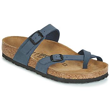 Pantofi Femei Papuci de vară Birkenstock MAYARI Albastru