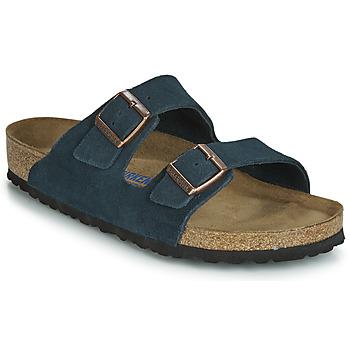 Pantofi Bărbați Papuci de vară Birkenstock ARIZONA SFB Bleumarin