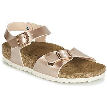 Pantofi Fete Sandale și Sandale cu talpă  joasă Birkenstock RIO Roz