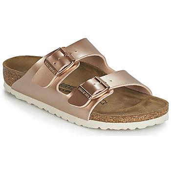 Pantofi Fete Papuci de vară Birkenstock ARIZONA Auriu