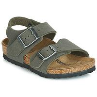 Pantofi Băieți Sandale  Birkenstock NEW YORK Gri