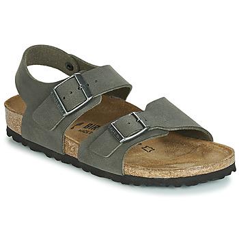 Pantofi Băieți Sandale și Sandale cu talpă  joasă Birkenstock NEW YORK Gri