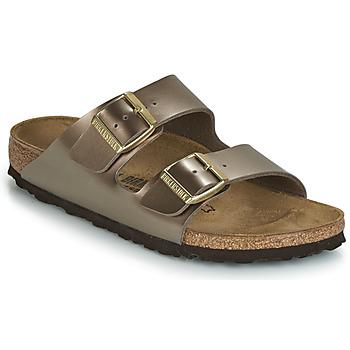 Pantofi Femei Papuci de vară Birkenstock ARIZONA Bronz
