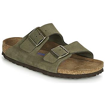 Pantofi Femei Papuci de vară Birkenstock ARIZONA SFB Kaki