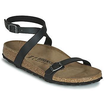Pantofi Femei Sandale  Birkenstock DALOA Negru