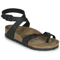 Pantofi Femei Sandale  Birkenstock YARA Negru