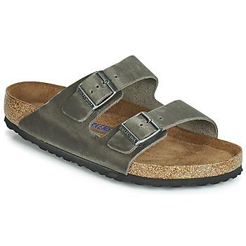 Pantofi Bărbați Papuci de vară Birkenstock ARIZONA SFB Gri