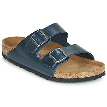 Pantofi Bărbați Papuci de vară Birkenstock ARIZONA SFB Albastru