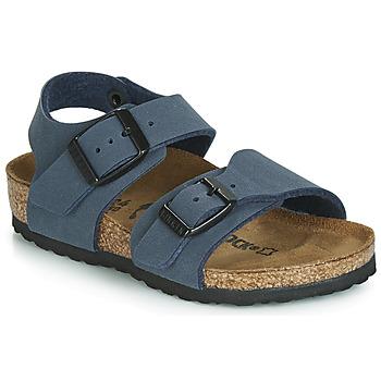 Pantofi Băieți Sandale  Birkenstock NEW YORK Albastru
