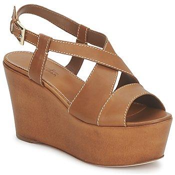 Încăltăminte Femei Sandale și Sandale cu talpă  joasă Sebastian S5270 Nude