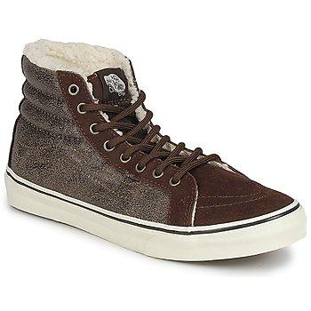 Pantofi Femei Pantofi sport stil gheata Vans CHUKKA SLIM Maro