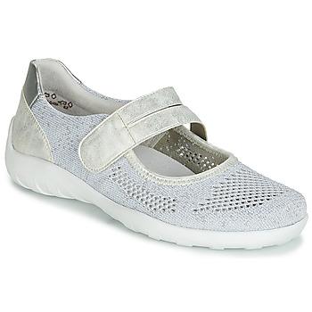 Pantofi Femei Balerin și Balerini cu curea Remonte Dorndorf HUIJI Argintiu