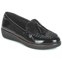 Pantofi Femei Mocasini FitFlop PAIGE FAUX-PONY Negru