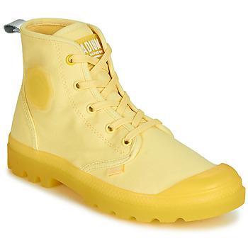 Pantofi Femei Ghete Palladium PAMPALICIOUS Galben