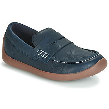 Pantofi Copii Mocasini Clarks ArtistStride K Bleumarin