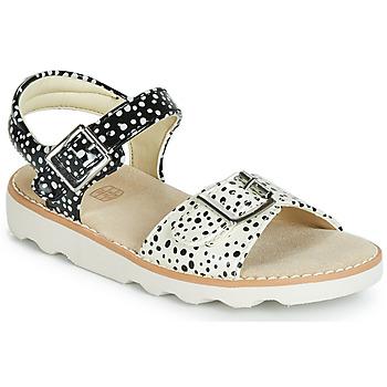 Pantofi Fete Sandale  Clarks Crown Bloom T Negru