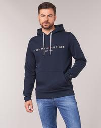 Îmbracaminte Bărbați Hanorace  Tommy Hilfiger TOMMY LOGO HOODY Albastru