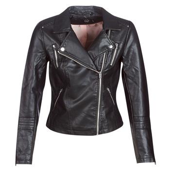 Îmbracaminte Femei Jachete din piele și material sintetic Only ONLGEMMA Negru