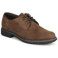 Încăltăminte Bărbați Pantofi Derby Timberland EK STORMBUCK PLAIN TOE OXFORD Maro