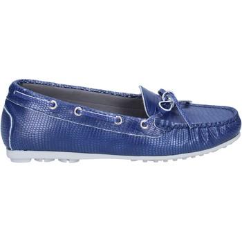 Pantofi Femei Mocasini K852 & Son BT933 Albastru