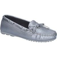 Pantofi Femei Mocasini K852 & Son BT934 Argint