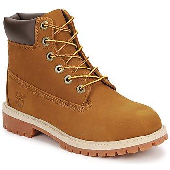 Pantofi Copii Ghete Timberland 6 IN PREMIUM WP BOOT Maro / Miel