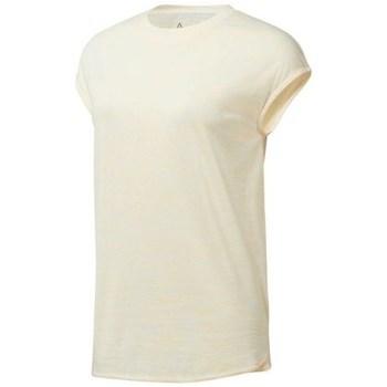 Îmbracaminte Femei Tricouri mânecă scurtă Reebok Sport EL Marble Tee Bej