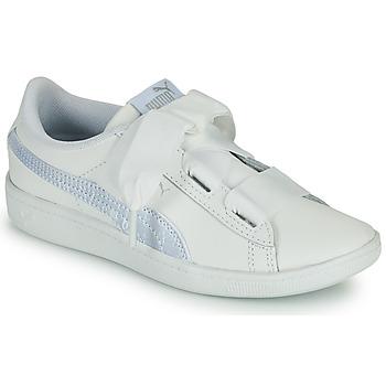 Pantofi Copii Pantofi sport Casual Puma VIKKY RIB PS BL Alb