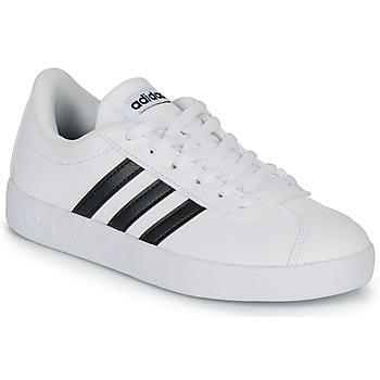Pantofi Copii Pantofi sport Casual adidas Originals VL COURT K BLC Alb