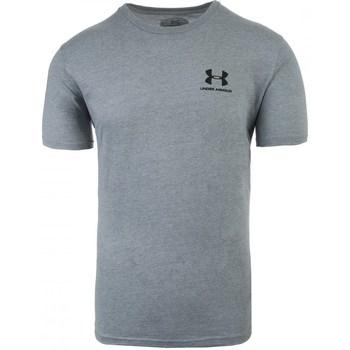 Îmbracaminte Bărbați Tricouri mânecă scurtă Under Armour Sportstyle Left Chest Gri
