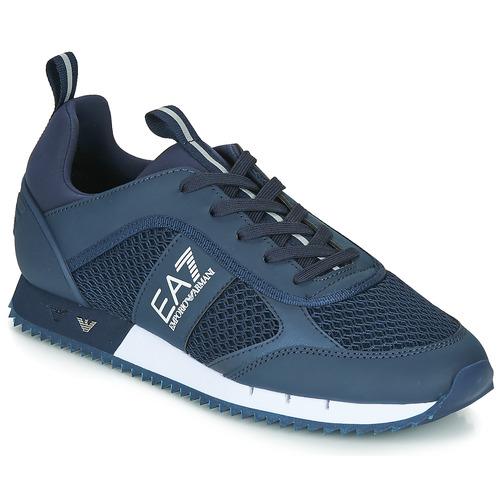 Pantofi Bărbați Pantofi sport Casual Emporio Armani EA7 BLACK&WHITE LACES U Albastru