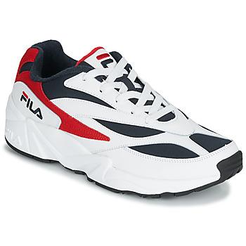 Pantofi Bărbați Pantofi sport Casual Fila V94M LOW Alb / Roșu