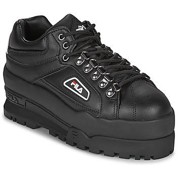 Pantofi Femei Pantofi sport Casual Fila TRAILBLAZER WEDGE WMN Negru