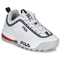 Pantofi Femei Pantofi sport Casual Fila DISRUPTOR LOGO LOW WMN Alb