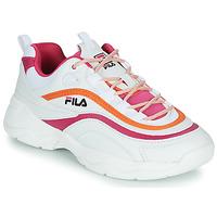 Pantofi Femei Pantofi sport Casual Fila RAY CB LOW WMN Alb / Roz / Portocaliu