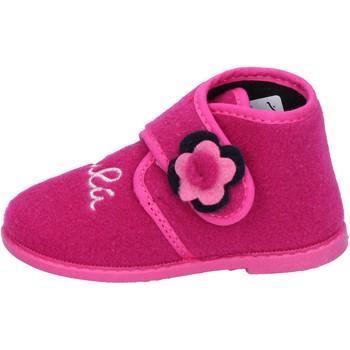 Pantofi Fete Papuci de casă Lulu Papuci BS28 Roz