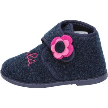 Pantofi Fete Papuci de casă Lulu BS29 Albastru