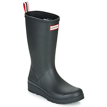 Pantofi Femei Cizme de ploaie Hunter ORIGINAL PLAY BOOT TALL Negru